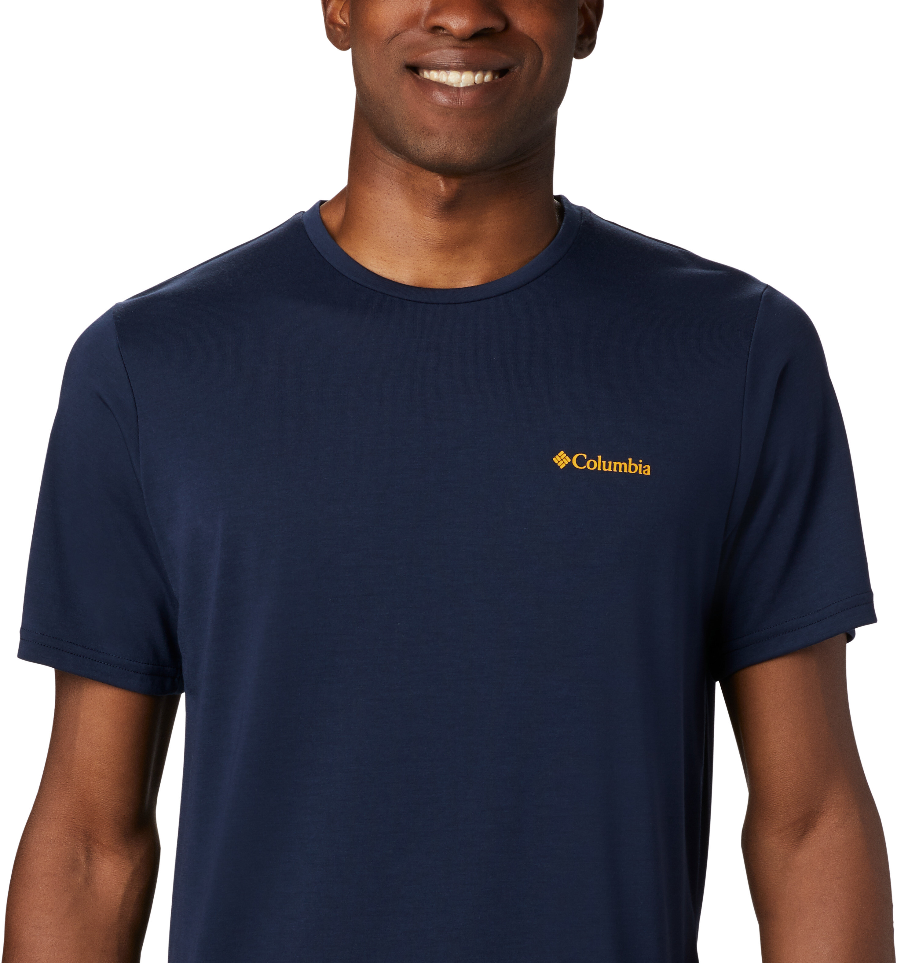 Columbia Maxtrail Logo Koszulka z krótkim rękawem Mężczyźni, collegiate navy (2020)